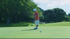 Nissan: la pallina da golf va in buca da sola. Il video - Immagine: 1