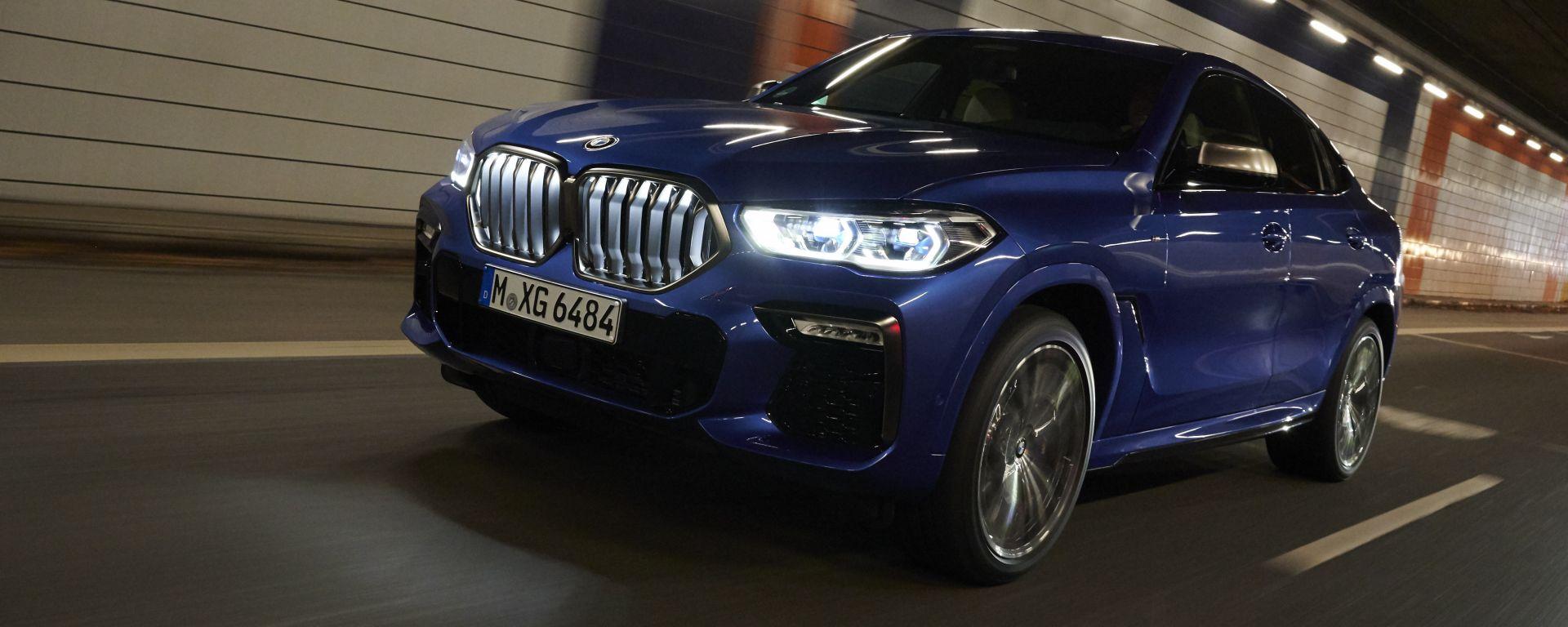 Nuova BMW X6: la terza generazione nella nostra video prova