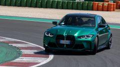 BMW M3 e M4 Competition, che effetto fa il giro di pista? Prova video - Immagine: 8