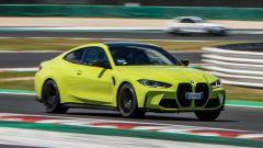 BMW M3 ed M4 Competition 2021: il video della prova a Misano