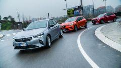 Opel Corsa vs Renault Clio vs Peugeot 208: super confronto video!