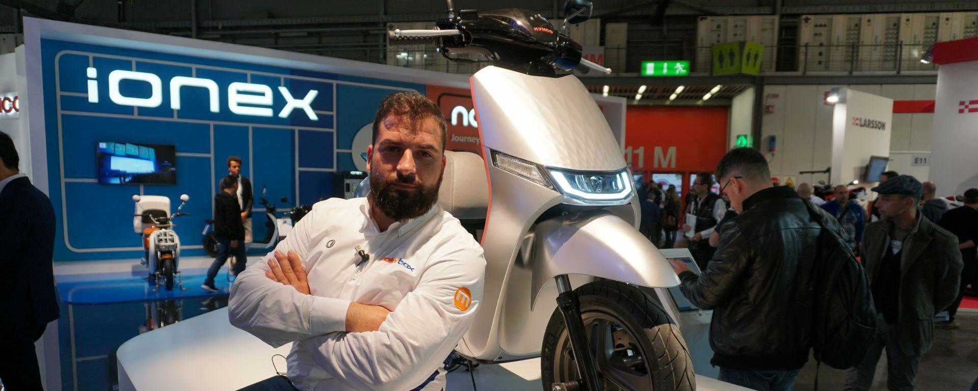 EICMA 2019 | Video: Kymco i-One DX, il futuro è elettrico