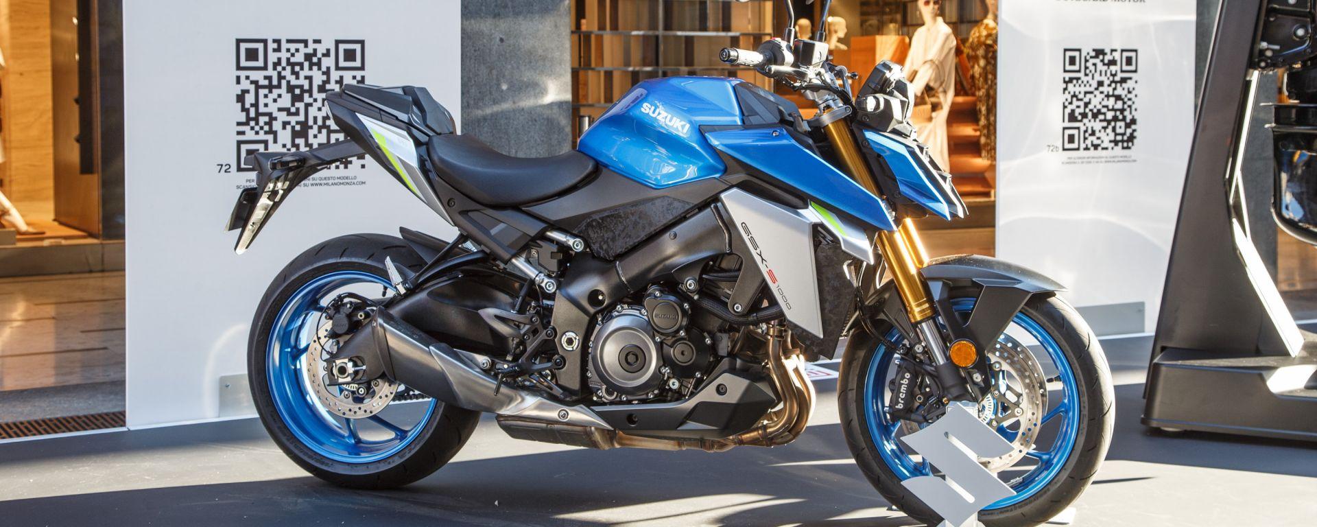 Video: novità Suzuki moto al MIMO 2021 con il presidente Massimo Nalli