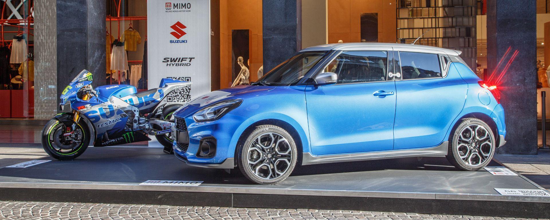 VIDEO: le novità Suzuki al Milano Monza Motor Show