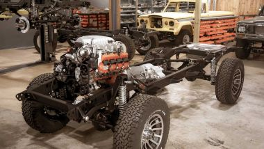 Vigilante Jeep Grand Wagoneer: il telaio