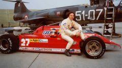 Villeneuve e la sua Ferrari - Istrana 1981