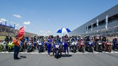 MotoGP: Vinales in sella alla Yamaha R1 sul circuito di Kyalami