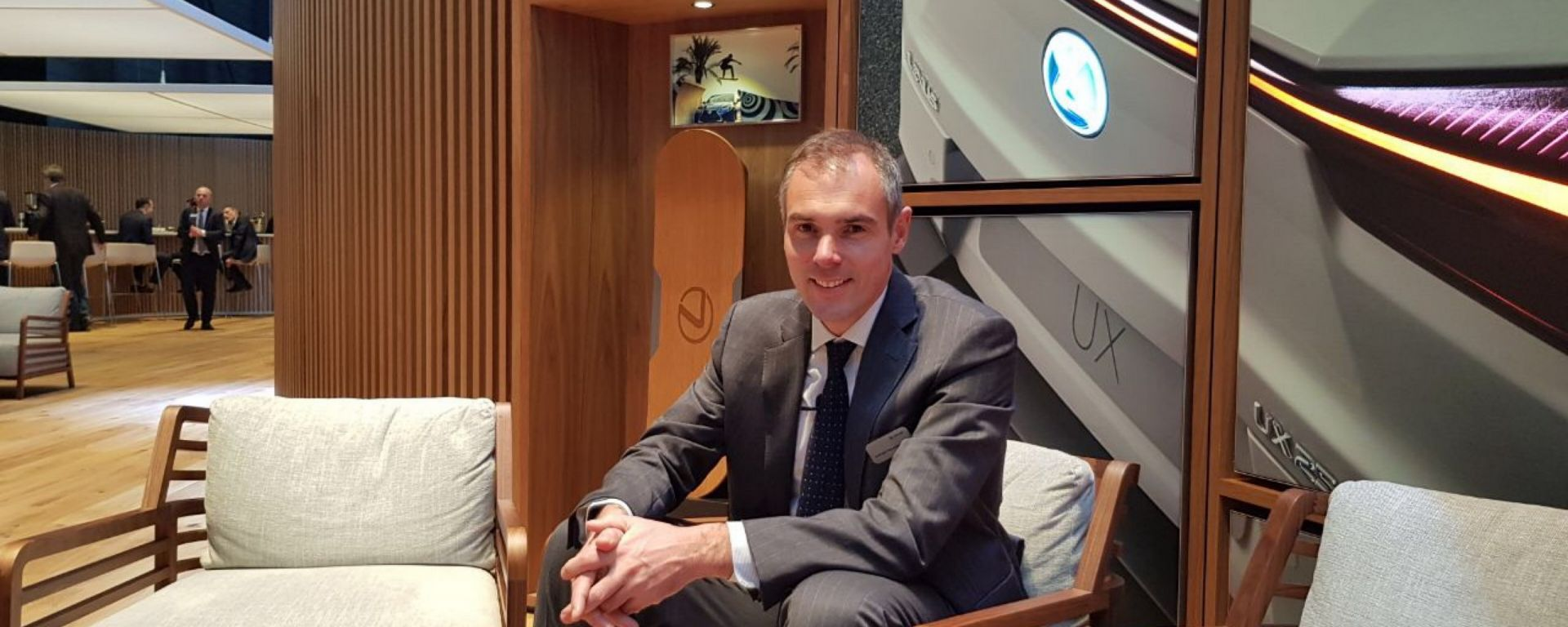 Vincent Van Acker, Lexus Division General Manager
