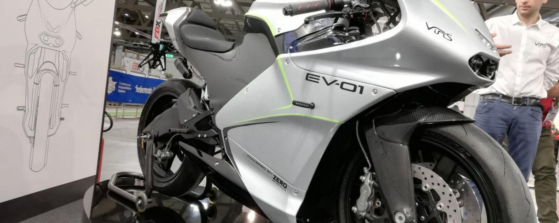 Vins EV-01 a EICMA 2019