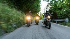 Vintage a confronto: Moto Guzzi V7 Special, Triumph Street Twin, Royal Enfied Interceptor 650