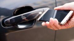 VW, Hyundai, BMW, Apple, Samsung ed LG: alleanza per chiave-smartphone