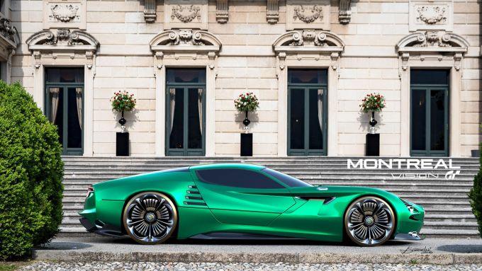 Vision GT per Alfa Romeo Montreal