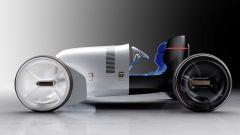 Vision Mercedes Simplex: concept EV e super hot rod