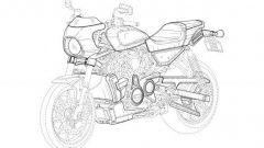Vista 3/4 anteriore della nuova Café Racer di Harley-Davidson