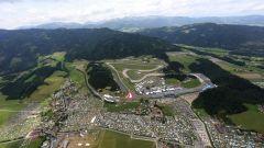 Vista aerea - Circuito Red Bull Ring