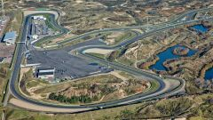 Vista aerea del circuito di Zandvoort