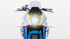 Vista frontale della Brand New Jack, la special di Icon su base Suzuki Katana