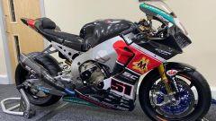 Vista laterale della Honda CBR del Team Triple M del Mondiale Superbike 2018 in vendita