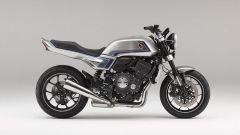 Vista laterale destra della Honda CB-F Concept