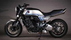 Vista laterale sinistra della Honda CB-F Concept
