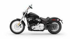 Vista laterale sinistra dell'Harley-Davidson Softail Standard 2020