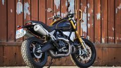 Vista posteriore della Ducati Scrambler 1100 Sport
