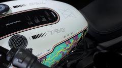 Vista superiore della Freedom Edition, l'Harley-Davidson Street Rod 750 in edizione limitata per il Giappone