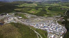 Visuale dall'alto. Circuito Hell-Norvegia