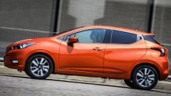 Visuale laterale - Nissan Micra My 2017