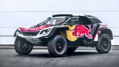 Visuale laterale - Team Peugeot Total, 3008 DKR Maxi