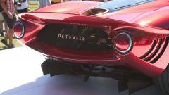 Visuale posteriore della De Tomaso P72