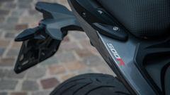 Voge Brivido 500R: al posteriore una gomma Pirelli Angel GT nella misura 160/60