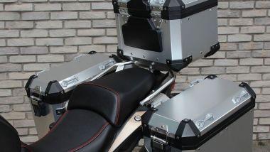 Voge Valico 650 DSX 2021: il set di valigie Tourer in alluminio