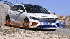Foto spia di Volkswagen Aero B, berlina elettrica in arrivo nel 2023