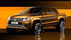 Volkswagen Amarok 2017: i primi teaser del restyling - Immagine: 1
