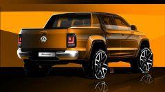 Volkswagen Amarok 2017: i primi teaser del restyling - Immagine: 2