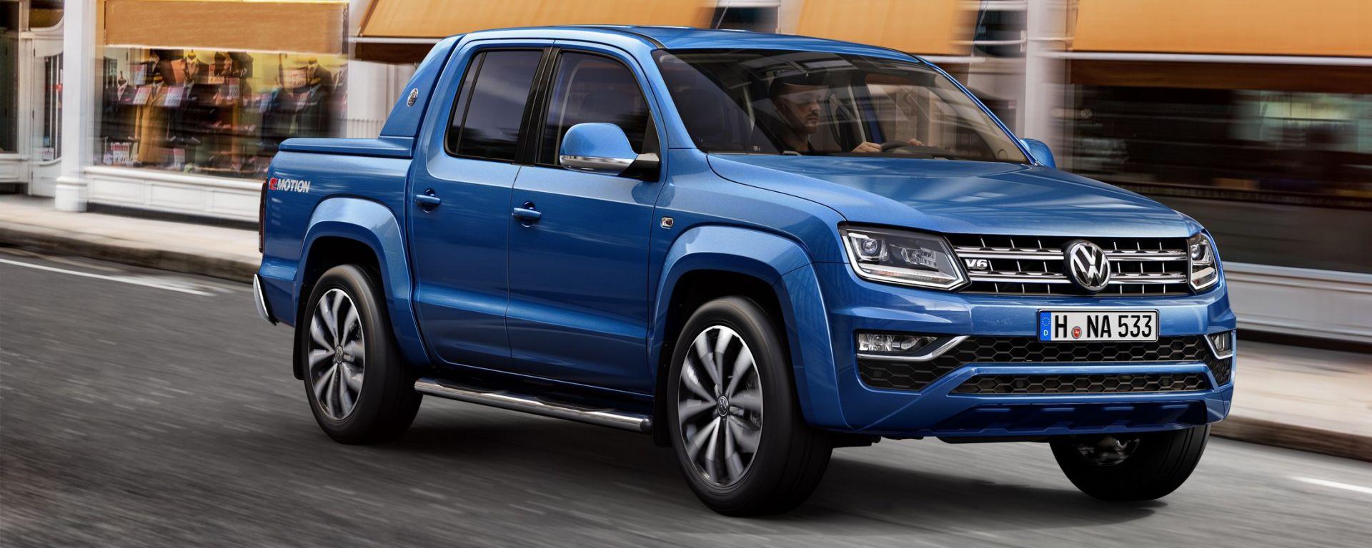 Volkswagen Amarok Aventura V6: nuovo look e motori 3.0 TDI