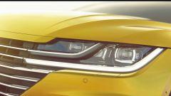 Volkswagen Arteon: dettaglio del gruppo ottico anteriore