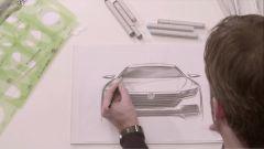 Volkswagen Arteon: la coupé 4 porte debutterà al Salone di Ginevra 2017