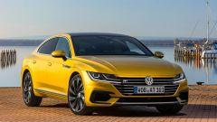 Volkswagen Arteon: il frontale