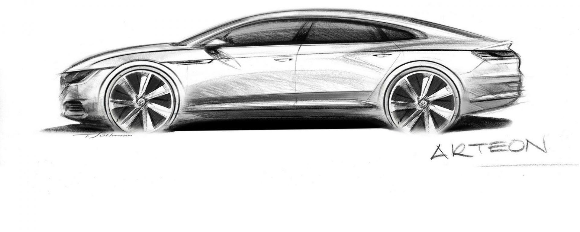 Volkswagen Arteon: la silhouette