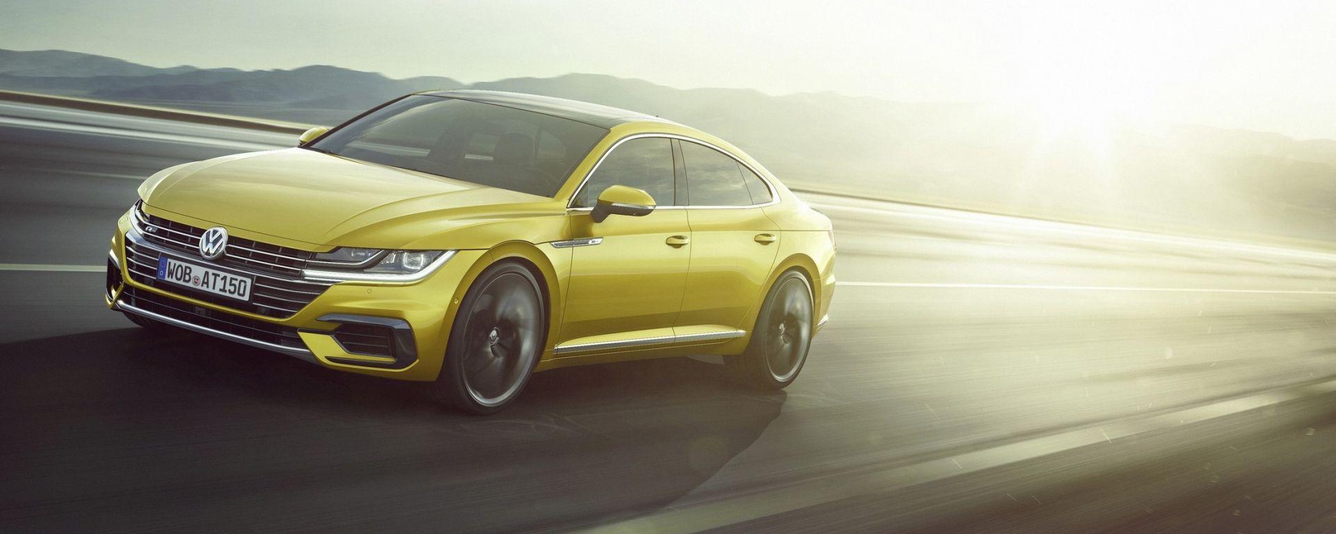Volkswagen Arteon: la coupé che vuole fare l'ammiraglia