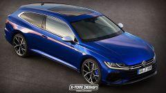 Volkswagen Arteon Shooting Brake diventa 3 porte: il render di X-Tomi Design