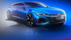 Volkswagen Arteon Shooting Brake: il frontale