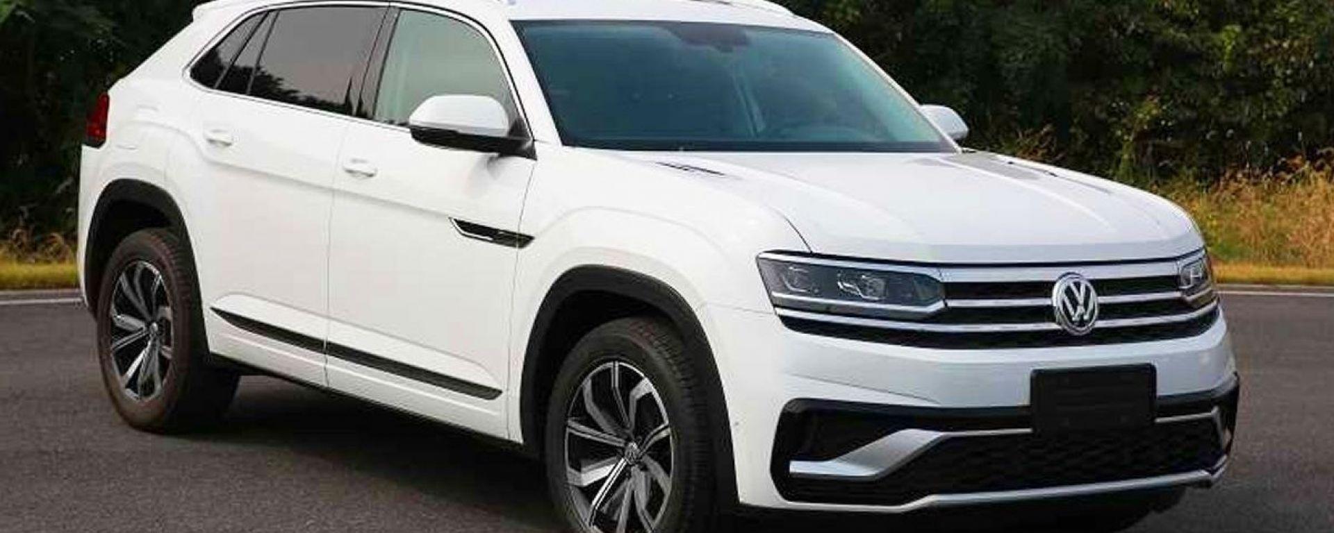 Volkswagen Atlas Cross Sport: un SUV coupé per Cina e USA