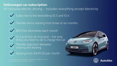 Volkswagen AutoAbo, come funziona l'abbonamento