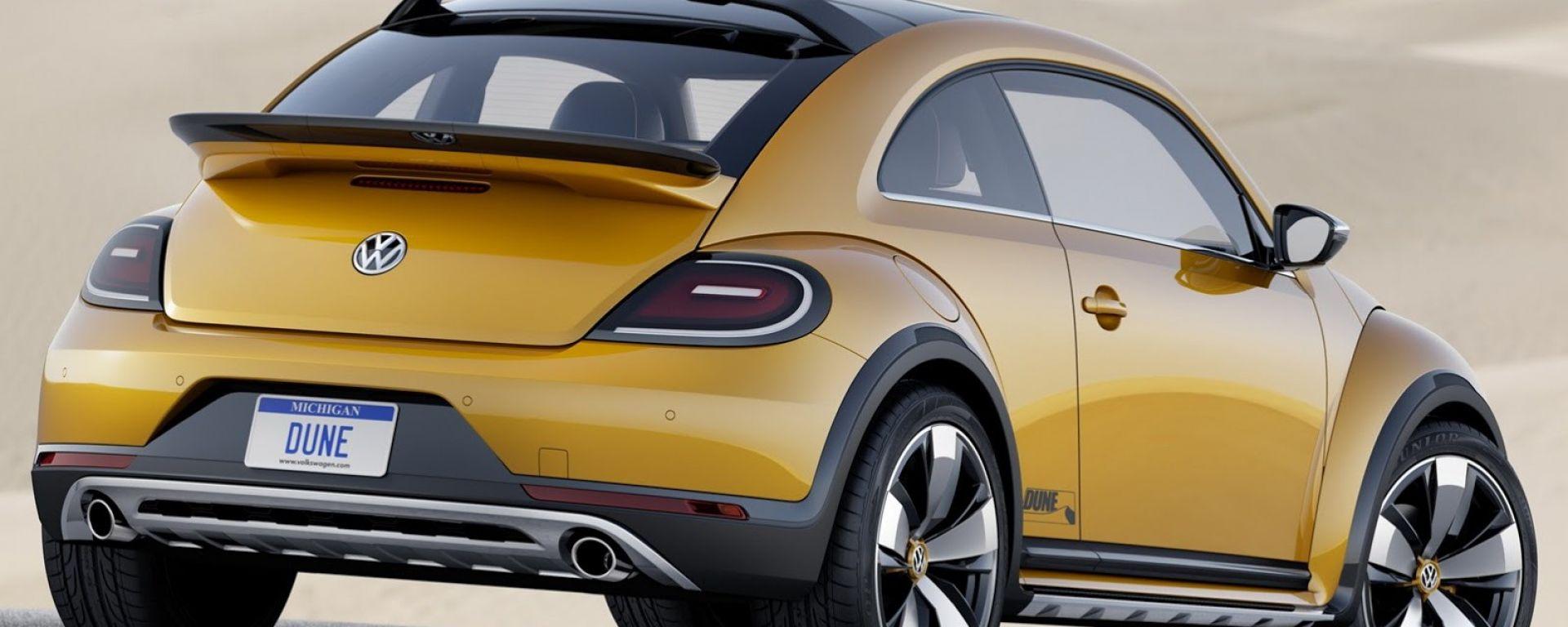 Volkswagen Beetle Dune: tutte le foto