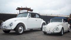 Volkswagen Beetle Huge Bug: i due modelli a confronto visti di lato