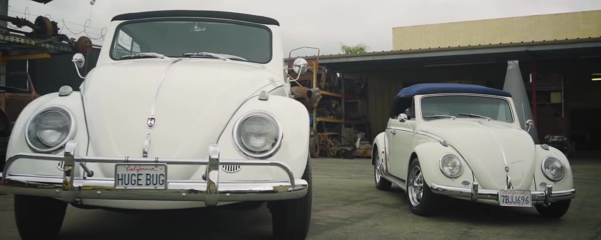Volkswagen Beetle Huge Bug: i due modelli a confronto