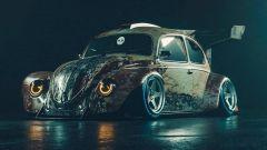 Volkswagen Beetle il rendering di Khyzyl Saleem